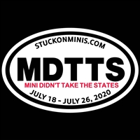 MDTTS 2020 Decal or Cling
