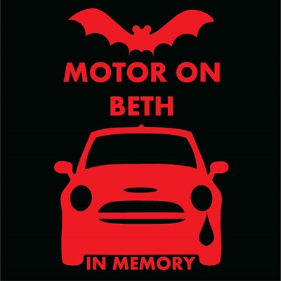 Beth Memorial Decal