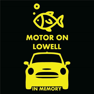 Lowell Memorial Decal