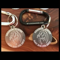 Dragon Slayer 2017 MOTD Carabiner Keychain