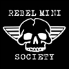 MINI REBEL SOCIETY DECAL
