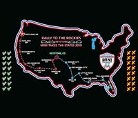 MTTS 2018 Door Map Vinyl Decal 11.75 x 18