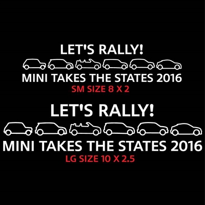 LETS RALLY RIGHT MINI TAKES THE STATES