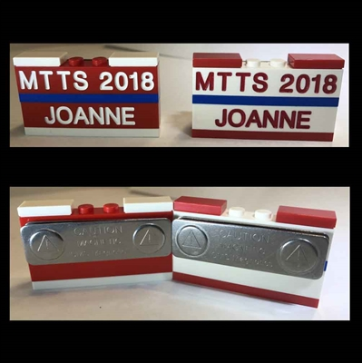 Custom LEGO MTTS 2018 Name Tag