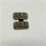 MSM BLOODTYPE PAIR, AB POS, MULTICAM