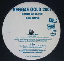 Various Reggae Gold 2001 Sampler