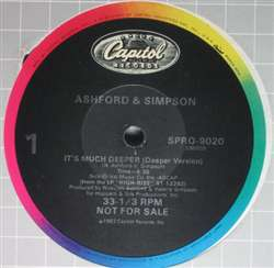Ashford & Simpson It's Much Deeper