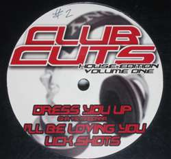Various Club Cuts House Edition Volume One