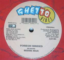 Beenie Man / Slick Foriegn Minded / Look Away