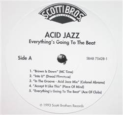 Various Acid Jazz: Everything's Going to the Beat