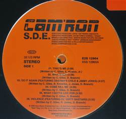 Cam'ron S.D.E. (Clean Promo Album)