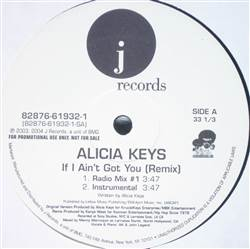 Alicia Keys If I Ain't Got You (Remix)