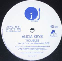 Alicia Keys Butterflyz / Troubles