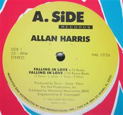 Allan Harris Falling In Love