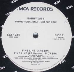 Barry Gibb Fine Line