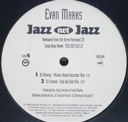 Evan Marks Jazz Not Jazz