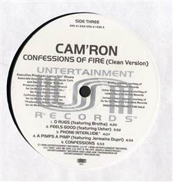Cam'ron Confessions Of Fire (Clean Version) (Disc 2 Only)