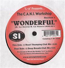 C.A.N.I. Workshop Wonderful