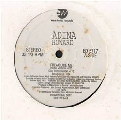 Adina Howard Freak Like Me