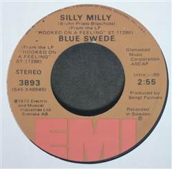 Blue Swede Silly Milly / Lonely Sunday Afternoon
