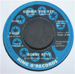 Bobby Keys Gimmie The Key