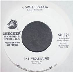 Violinaires I'm Feeling Good / A Simple Prayer