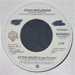Craig Mirijanian After Hours