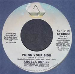 Angela Bofill I'm On Your Side / Gotta Make It Up To You