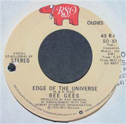 Bee Gees Nights On Broadway / Edge Of The Universe