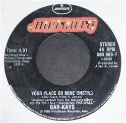 Bar-Kays Your Place Or Mine