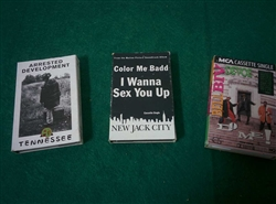 Hip Hop/R&B/New Jack Swing - Lot of 3 Cassette Singles