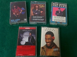 Funk/Soul - Lot of 5 1980's Cassettes