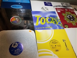 "Trance - Lot of 15 12"" Singles Wax Pack"
