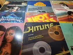 Funk / Soul / Disco - Lot of 50 Albums LPs Wax Pack