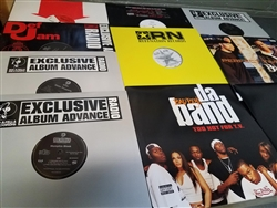 Hip Hop - Lot of 10 Double LPs