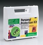 Bloodborne Pathogen Kit with CPR Barrier, First Aid Only, 213-F