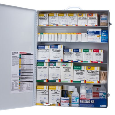 5 Shelf First Aid Kit- First Aid Only 249-O Industrial First Aid ...
