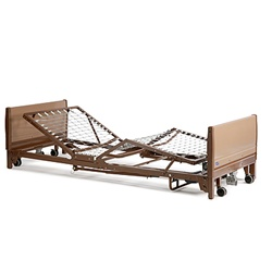 Low Hospital Bed - Invacare Fully-Electric LOW Hospital Bed 5410LOW