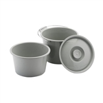 Nova Commode Bucket/Splash Shield Combo with Lid 8450B