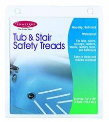 Bath Tub and Shower Non-Slip Safety Treads, APXEN33