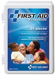 First Aid Only All Purpose First Aid Kit, 81 Piece, FAO-130