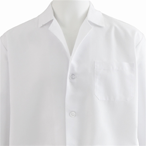 Medline SilverTouch Antimicrobial Lab Coat MDT12WHTST