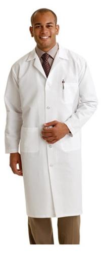 Medline Lab Coats- Medline Full Length lab coat. 80% Polyester/ 20 ...