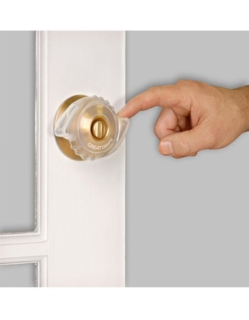 Great Grips make opening the door easier and safer for people having difficulty turning the door  sc 1 st  Westcoastmedicalsupply.com & Great Grips Door Knob turning aid. Makes turning the door knob ... pezcame.com