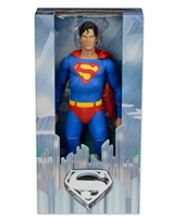 2015 Neca Superman Christopher Reeve Version 1:4 Scale Action Figure