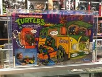 1988 Playmates Ninja Turtle Party Wagon AFA 75