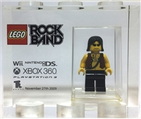 TT Games Lego Minifgure Employee Only Trophy Brick 2009 Rock Band