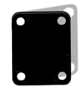 Neck plate cushion black