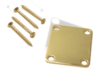 Neck plate gold