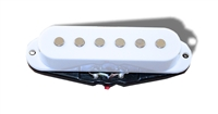Single pickup coil, white